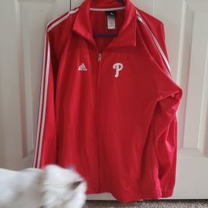 Womens Adidas Philadelphia Phillies jacket